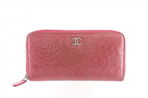 Chanel Wallet pink imitation leather