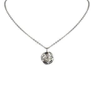 Chanel Camellia Pendant Necklace