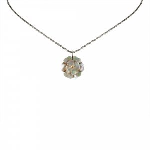 Chanel Camellia Shell Necklace