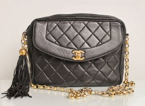 CHANEL CAMERA CROSS BODY TASCHE GOLDWARE MEDIUM