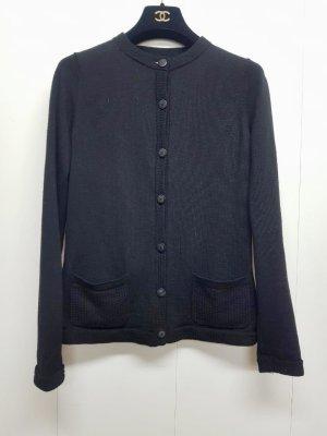 Chanel Gebreide cardigan zwart
