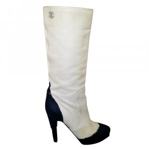 CHANEL Catwalk Stiefel aus Lammleder