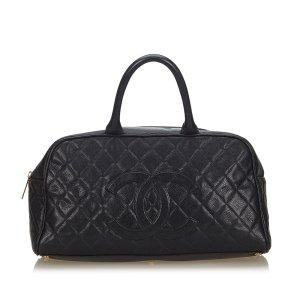 Chanel Handbag black leather