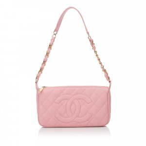 Chanel Caviar Leather Chain Shoulder Bag