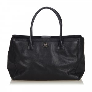 Chanel Caviar Leather Executive Cerf Tote Bag