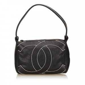 Chanel Caviar Leather Handbag