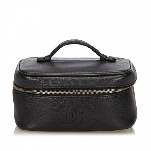 Chanel Caviar Leather Vanity Bag