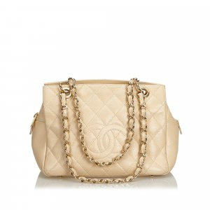 Chanel Caviar Petit Timeless Shopping Tote
