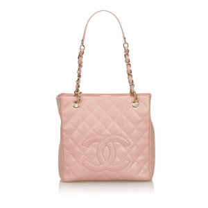 Chanel Tote pink leather