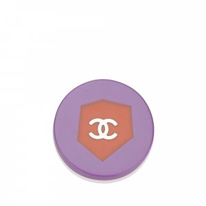 Chanel Broche violet chlorofibre