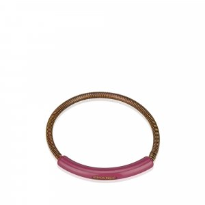 Chanel CC Gold-Tone Bangle