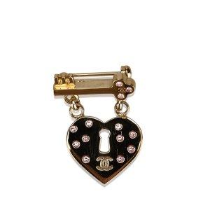 Chanel Broche color oro metal