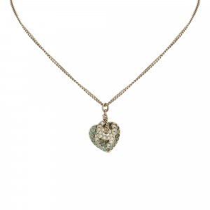 Chanel CC Heart Necklace