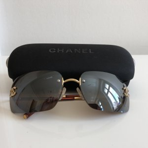 Chanel Gafas de sol cuadradas multicolor metal