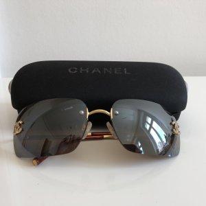 Chanel CC Logo Sonnenbrille Brille Swarovski Steine Case ❤️