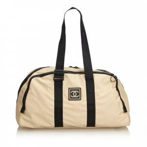 Chanel CC Nylon Sport Line Duffle Bag