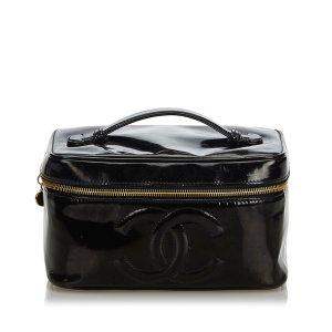Chanel Cosmeticabox zwart Imitatie leer