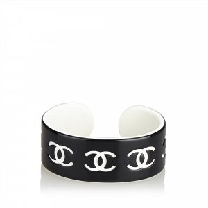 Chanel CC Resin Bangle