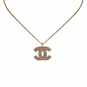 Chanel Necklace gold-colored metal