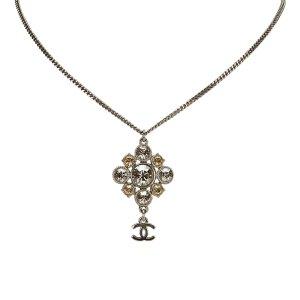Chanel CC Rhinestone Necklace
