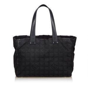 Chanel Bolso de compra negro