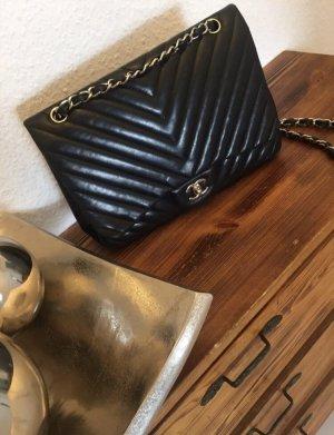 Chanel Sac à main noir-argenté