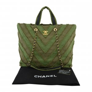 Chanel Chevron Shopper @mylovelyboutique.com