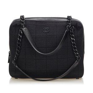 Chanel Borsetta nero Cotone