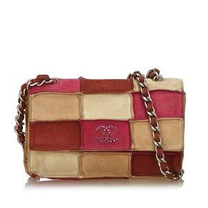 Chanel Choco Bar Patchwork Flap Bag