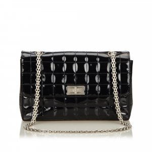 Chanel Choco Bar Reissue Patent Leather Bag