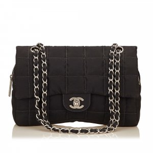 Chanel Choco Bar Shoulder Bag
