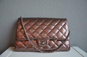 Chanel Pochette chameau cuir