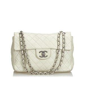 Chanel Classic Jumbo Caviar Single Flap Bag