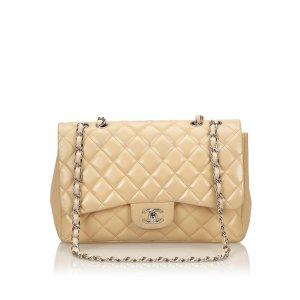 Chanel Classic Jumbo Lambskin Leather Single Flap Bag