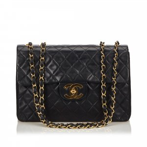 Chanel Classic Maxi Lambskin Flap Bag
