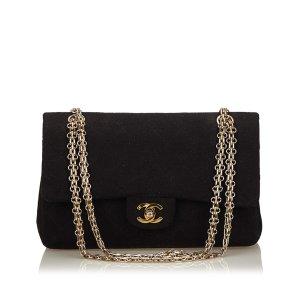 Chanel Classic Medium Cotton Double Flap Bag