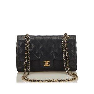 Chanel Classic Medium Lambskin Leather Double Flap Bag