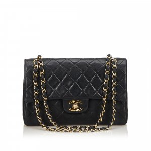 Chanel Classic Small Leather Double Flap Bag