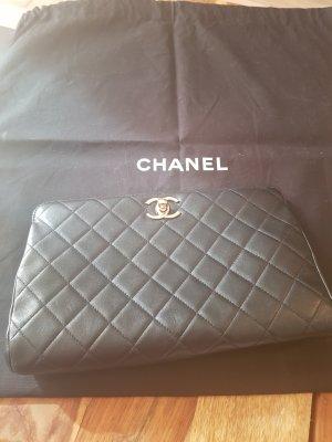 Chanel Bolso de mano negro Cuero