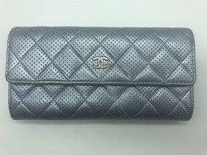Chanel Borsa clutch argento-grigio