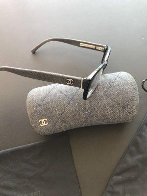 Chanel coco chanel Brille neuwertig Jeans schwarz