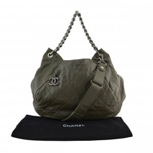 Chanel Coco Pleats Hobo Bag @mylovelyboutique.com