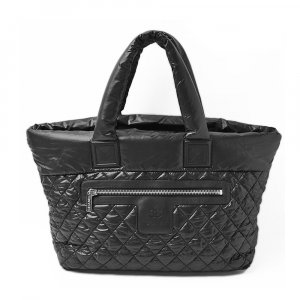 Chanel Shopper noir nylon