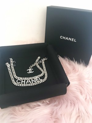 Chanel Collar estilo collier color plata