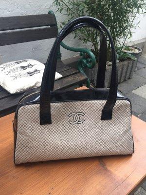 Chanel Borsetta bianco sporco-nero
