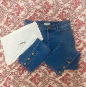 Chanel Jeans a 7/8 blu