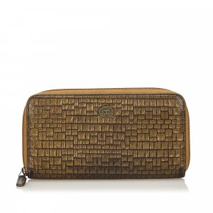Chanel Portafogli bronzo Pelle