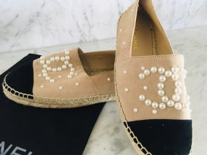 Chanel Slip-on Shoes beige
