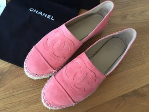 Chanel Espadrilles Gr.39, lachsfarben
