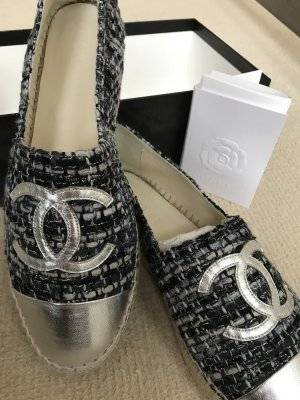 Chanel Low Shoes multicolored leather